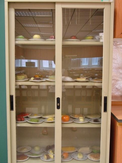 食物模型展示櫃